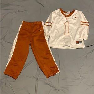 Toddler Nike longhorn set